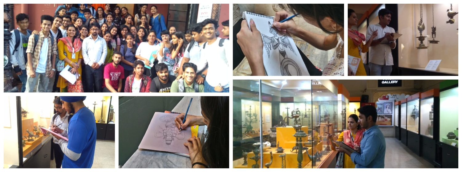 AD Students Visited Kelkar Museum 2019
