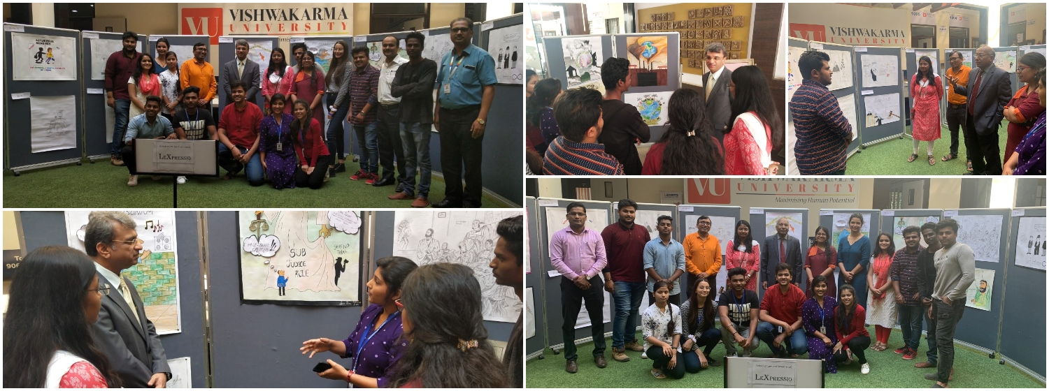 Poster Exhibition by Law Department