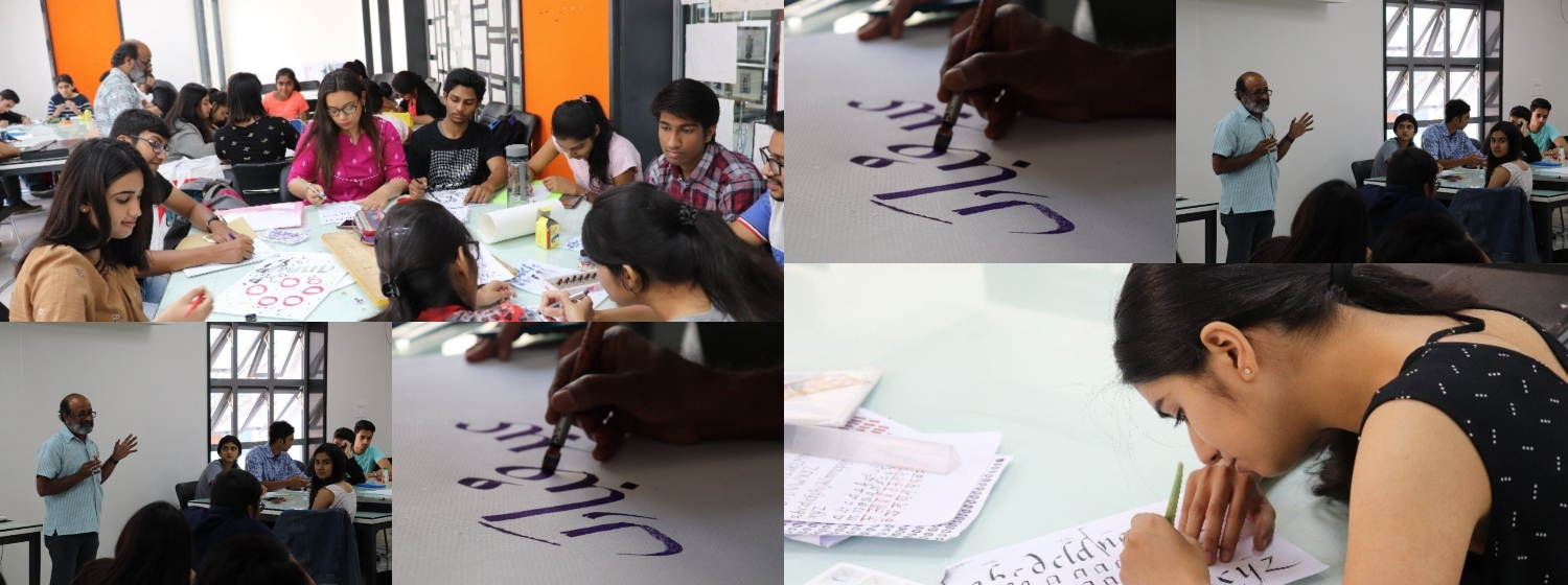 Workshop on CALLIGRAPHY