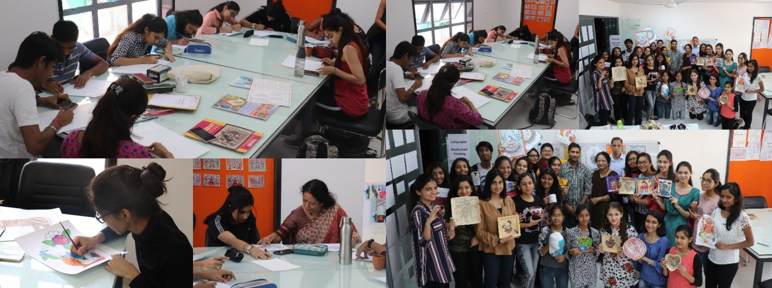 Workshop on MADHUBANI PAINTING